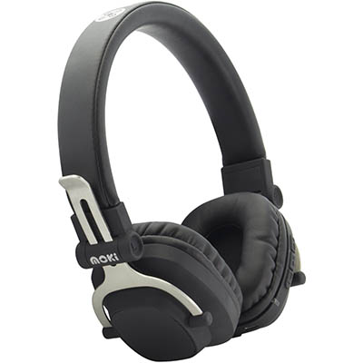 Image for MOKI EXO BLUETOOTH HEADPHONES DOUBLE BLACK from Office National Hobart