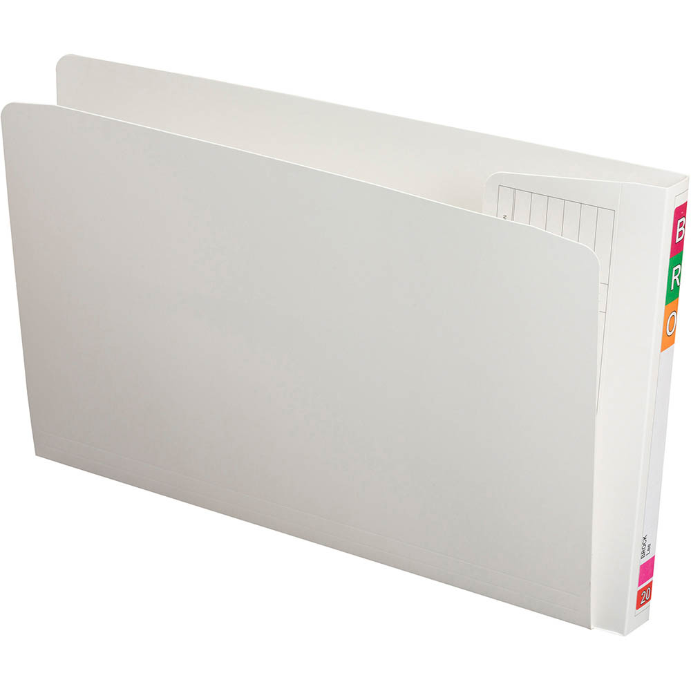 Image for AVERY 165720 FULLVUE WHITE FILE 30MM GUSSET BOX 100 from Office National Capalaba