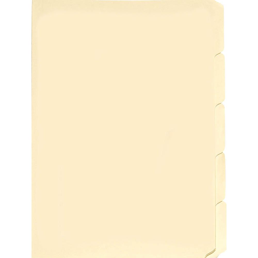 Image for AVERY 81557 MANILLA FOLDER BUFF TABBED FOOLSCAP PACK 50 from Axsel Office National