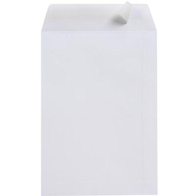 Image for CUMBERLAND C4 ENVELOPES POCKET PLAINFACE STRIP SEAL 100GSM 324 X 229MM WHITE PACK 25 from Mackay Business Machines (MBM)