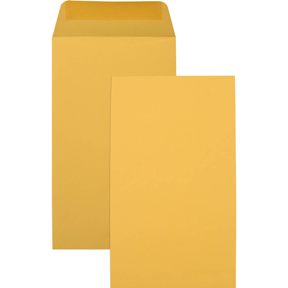 Image for CUMBERLAND P6 ENVELOPES SEED POCKET PLAINFACE MOIST SEAL 85GSM 135 X 80MM GOLD BOX 1000 from Axsel Office National
