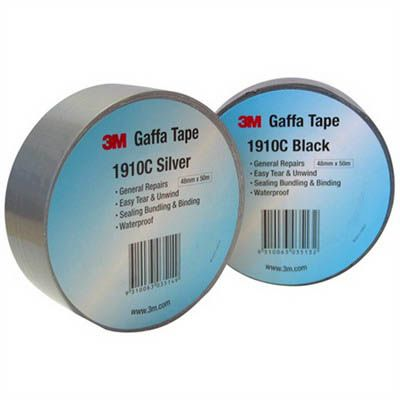 Image for 3M 1910C GAFFA TAPE CLOTH 48MM X 10M BLACK from Office National Limestone Coast