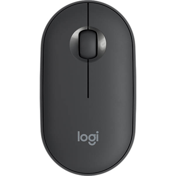 Image for LOGITECH M350 PEBBLE WIRELESS MOUSE GRAPHITE from Office National Barossa