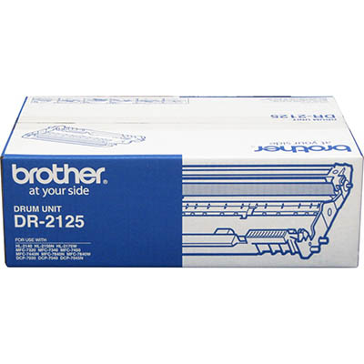 Image for BROTHER DR2125 DRUM CARTRIDGE from Wetherill Park / Smithfield Office National