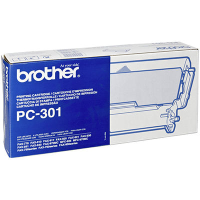 Image for BROTHER PC301 FAX CARTRIDGE AND ROLL from OFFICE NATIONAL CANNING VALE, JOONDALUP & OFFICE TOOLS OPD