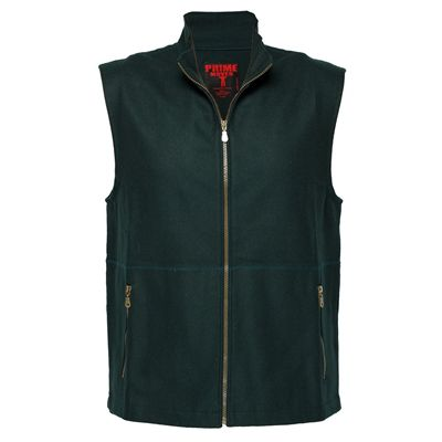 Image for PRIME MOVER MW016 100% WOOL VEST WITH ZIP CLOSURE from OFFICE NATIONAL CANNING VALE, JOONDALUP & OFFICE TOOLS OPD
