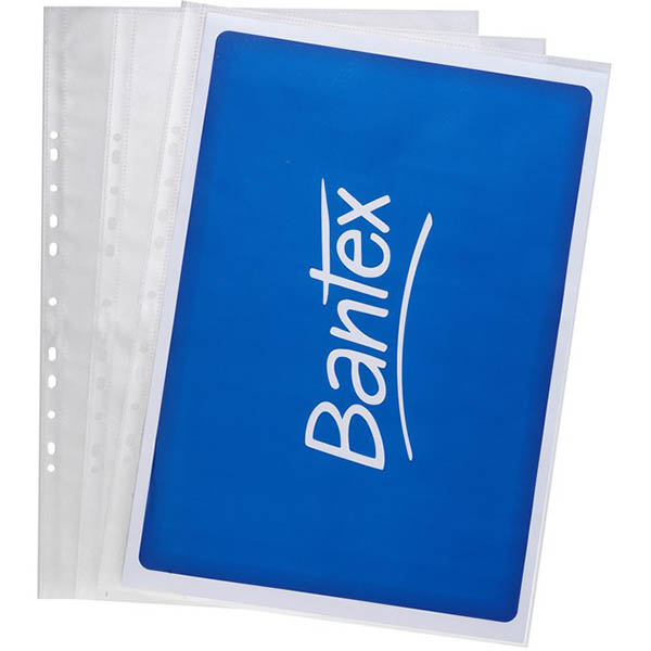 Image for BANTEX TOUGH SHEET PROTECTORS 120 MICRON A3 CLEAR PACK 25 from Ezi Office National Tweed