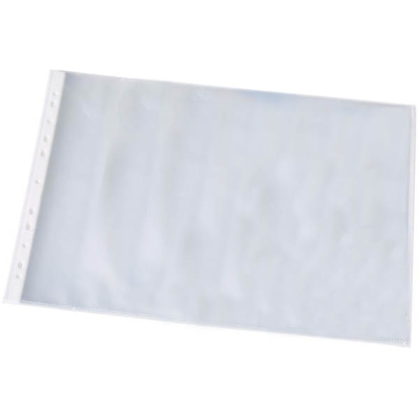 Image for BANTEX HEAVY DUTY SHEET PROTECTOR LANDSCAPE 125 MICRON A3 CLEAR PACK 25 from Axsel Office National