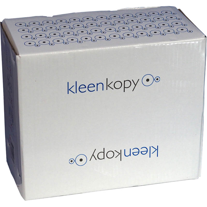 Image for KLEENKOPY COMPUTER LISTING/CONTINUOUS PAPER 3 PART 80GSM 11 X 9.5 INCH PLAIN WHITE CARTON 750 SHEETS from Office National Capalaba