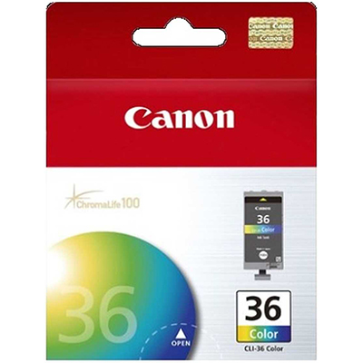 Image for CANON CLI36C INK CARTRIDGE FOUR COLOUR from Wetherill Park / Smithfield Office National