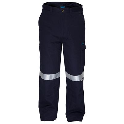 Image for PRIME MOVER MW701 COTTON DRILL PANTS FLAME RETARDANT WITH REFLECTIVE TAPE from Officebarn