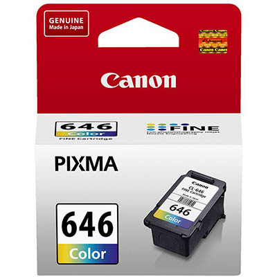 Image for CANON CL646 INK CARTRIDGE COLOUR from Office National Hobart