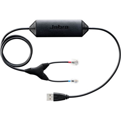 Image for JABRA 14201-32 ELECTRONIC HOOK SWITCH LINK CABLE FOR AVAYA AND NORTEL from Office National Capalaba