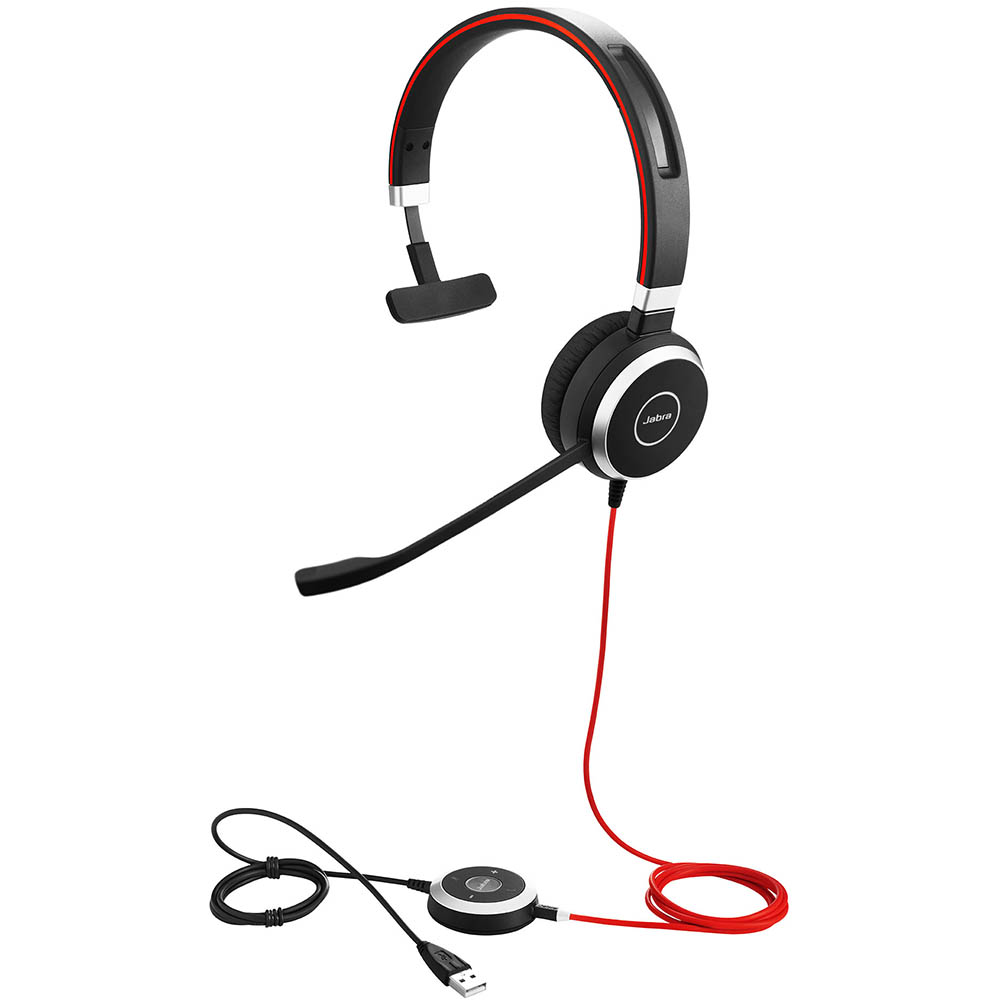 Image for JABRA EVOLVE 40 MONO USB-C CORDED HEADSET from Office National Capalaba