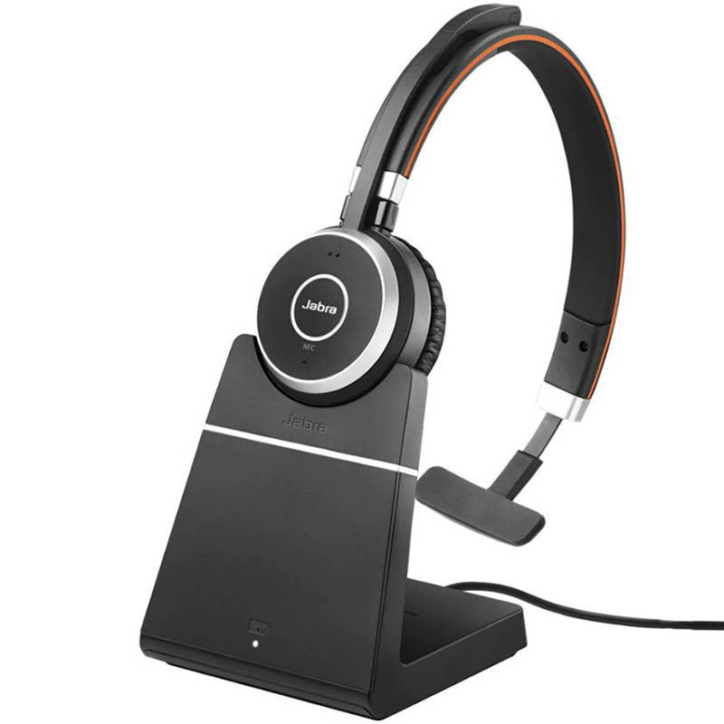 Image for JABRA EVOLVE 65 MONO BLUETOOTH HEADSET WITH CHARGING STAND from Office National Capalaba