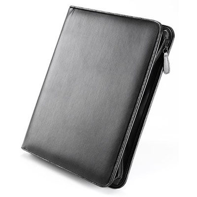 Image for FALCON LEATHER ZIP CONFERENCE FOLDER from Axsel Office National