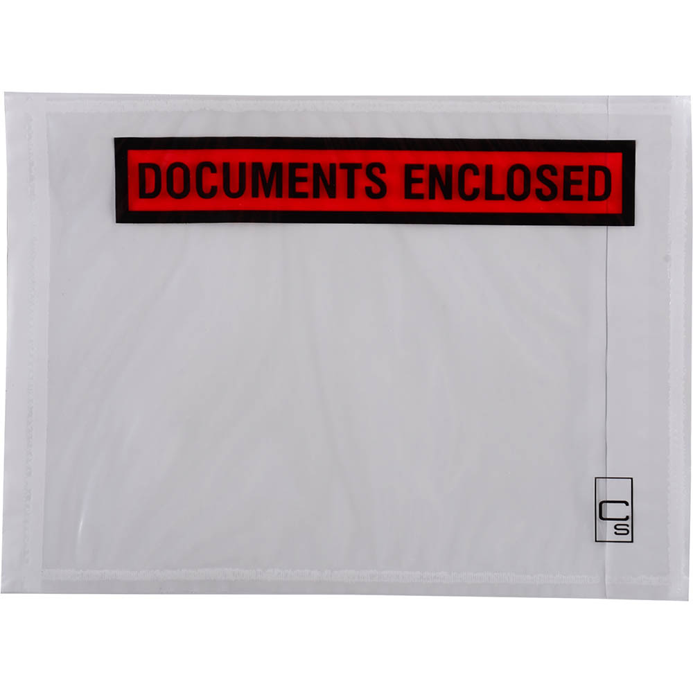 Image for CUMBERLAND PACKAGING ENVELOPE DOCUMENTS ENCLOSED 155 X 115MM WHITE BOX 1000 from Office National Kalgoorlie