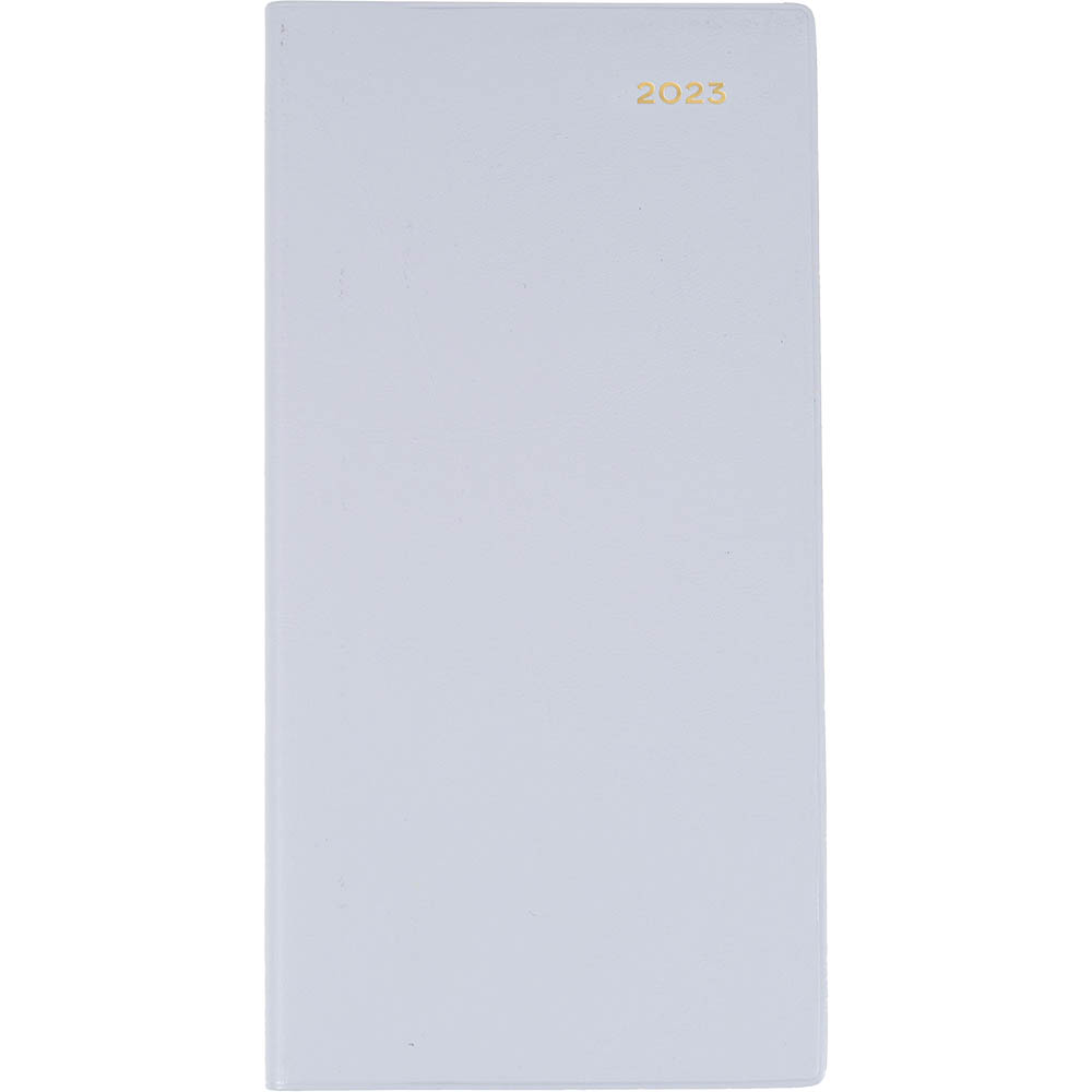 Image for COLLINS 2021 BELMONT SLIMLINE DIARY WEEK TO VIEW B6/7 GREY from Axsel Office National