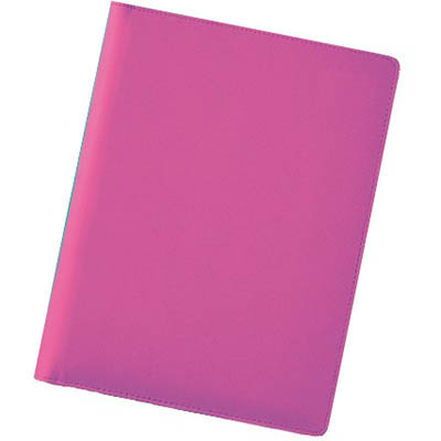 Image for DEBDEN COMPENDIUM A4 PU FASHION PINK from Office National Hobart