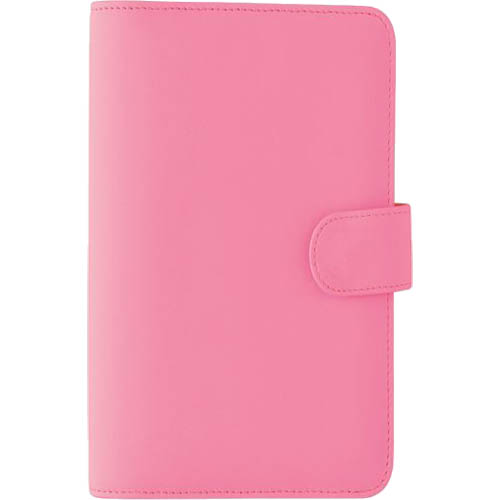 Image for DEBDEN DAYPLANNER SLIMLINE EDITION SNAP CLOSURE 162 X 82MM PU PINK from Mackay Business Machines (MBM)