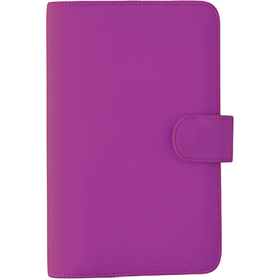 Image for DEBDEN DAYPLANNER SLIMLINE EDITION SNAP CLOSURE 162 X 82MM PU PURPLE from Axsel Office National