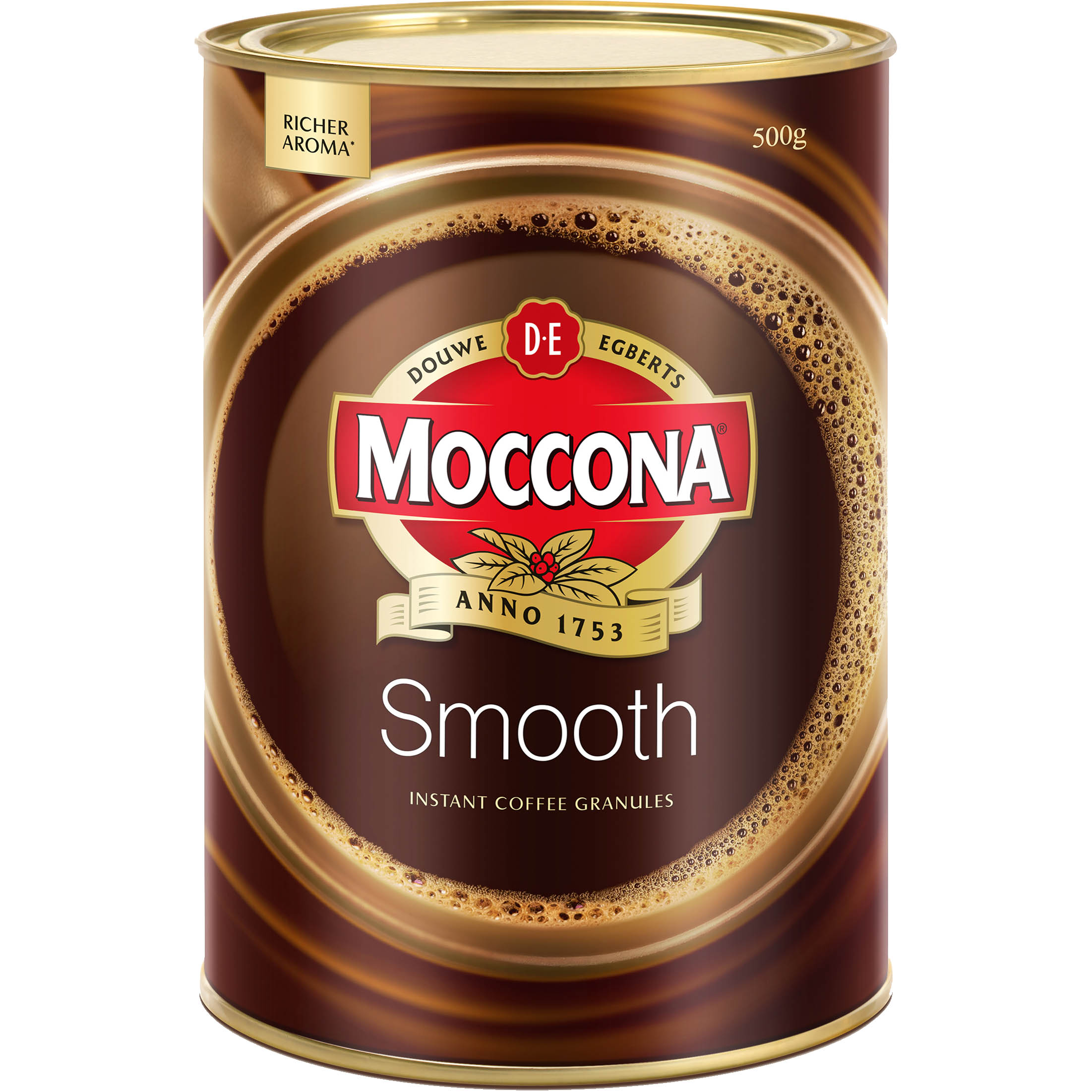 Image for MOCCONA SMOOTH INSTANT COFFEE 500G CAN from The Paper Bahn Office National