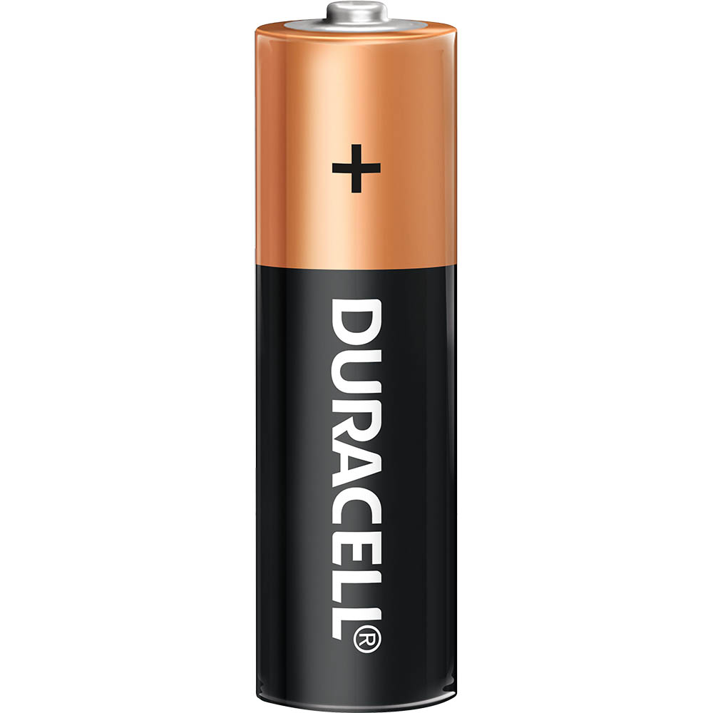 Image for DURACELL COPPERTOP ALKALINE AA BATTERY from Office National Perth CBD