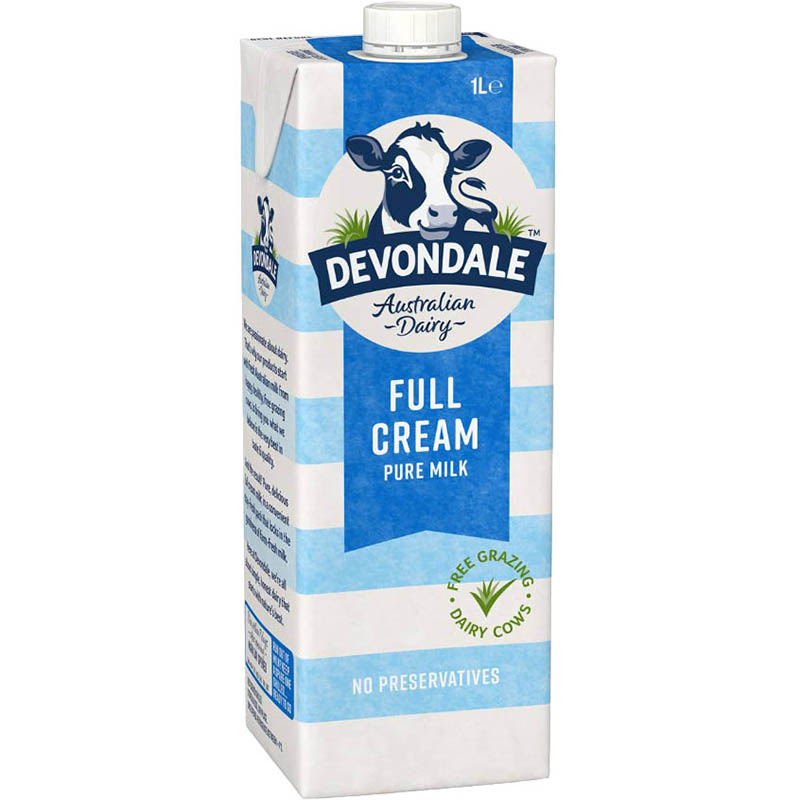 Image for DEVONDALE LONG LIFE FULL CREAM MILK 1 LITRE from Page 5 Office National