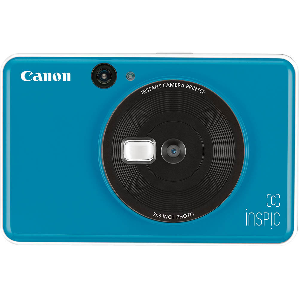 Image for CANON INSPIC C DIGITAL CAMERA AND PHOTO PRINTER SEASIDE BLUE from OFFICE NATIONAL CANNING VALE, JOONDALUP & OFFICE TOOLS OPD