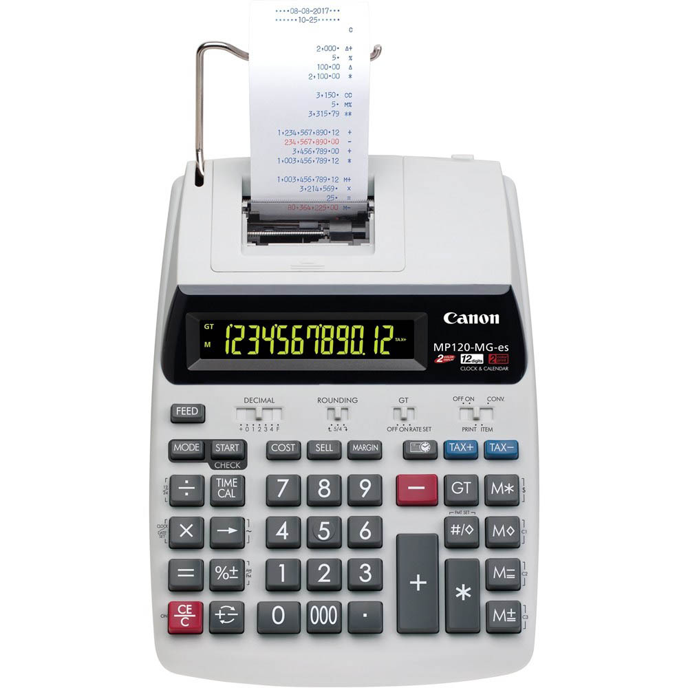 Image for CANON MP120MGII DESKTOP PRINTER CALCULATOR from Our Town & Country Office National