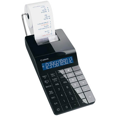 Image for CANON X MARK I PBK PORTABLE PRINTING CALCULATOR BLACK from PaperChase Office National