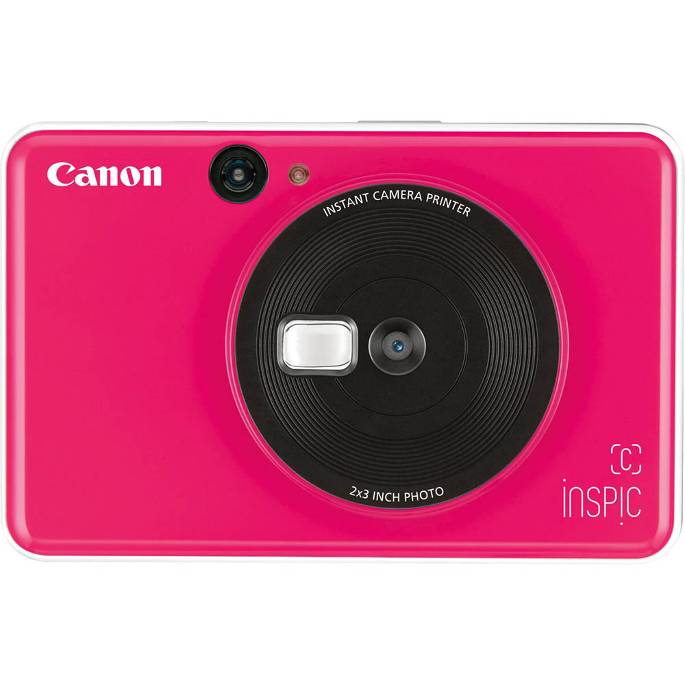 Image for CANON INSPIC C DIGITAL CAMERA AND PHOTO PRINTER BUBBLEGUM PINK from OFFICE NATIONAL CANNING VALE, JOONDALUP & OFFICE TOOLS OPD