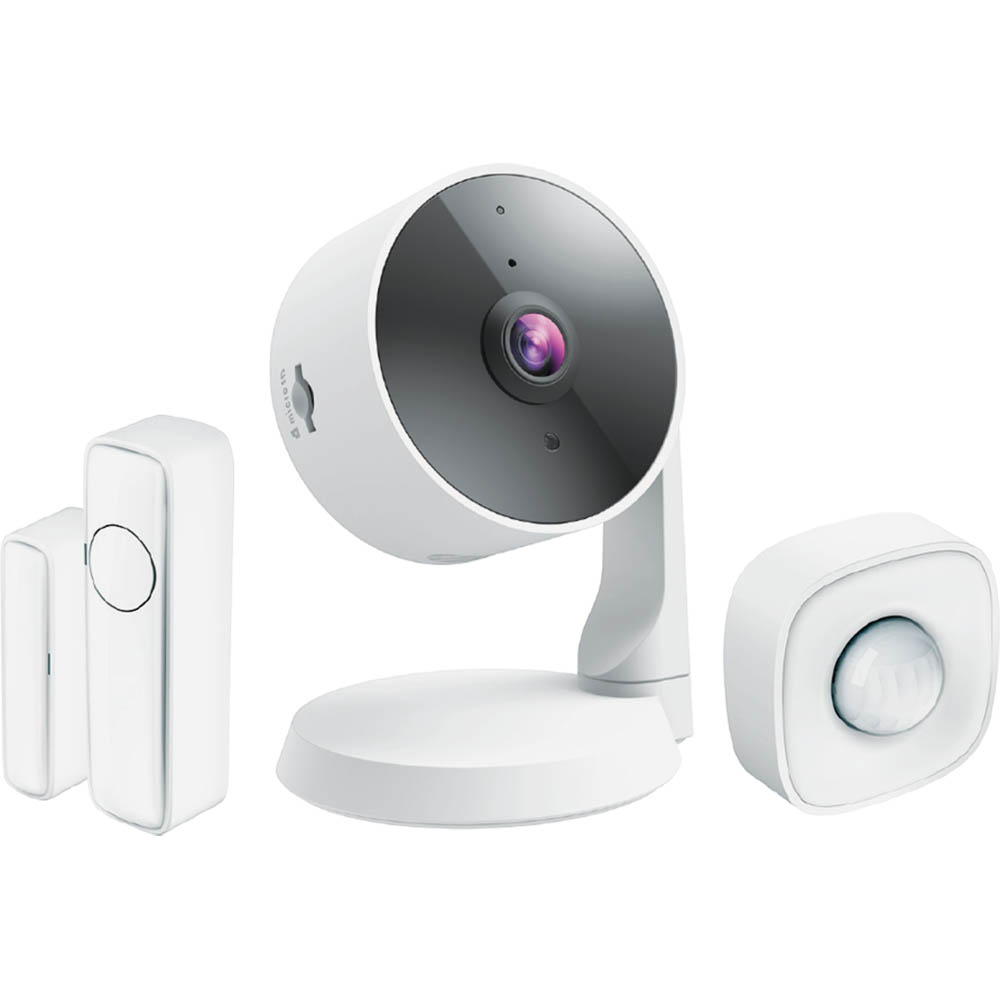Image for D-LINK DCS-8331KT SMART DIY SECURITY BUNDLE WHITE from OFFICE NATIONAL CANNING VALE, JOONDALUP & OFFICE TOOLS OPD