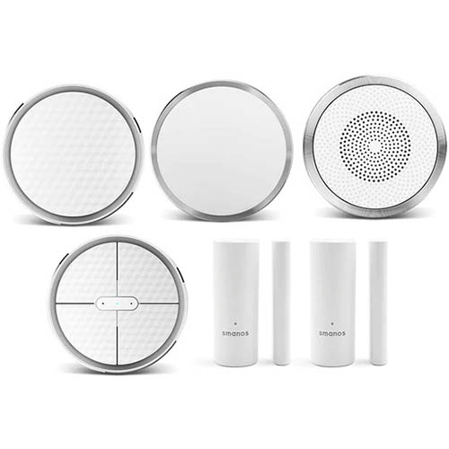 Image for SMANOS K1 SMART HOME DIY KIT WHITE from Chris Humphrey Office National