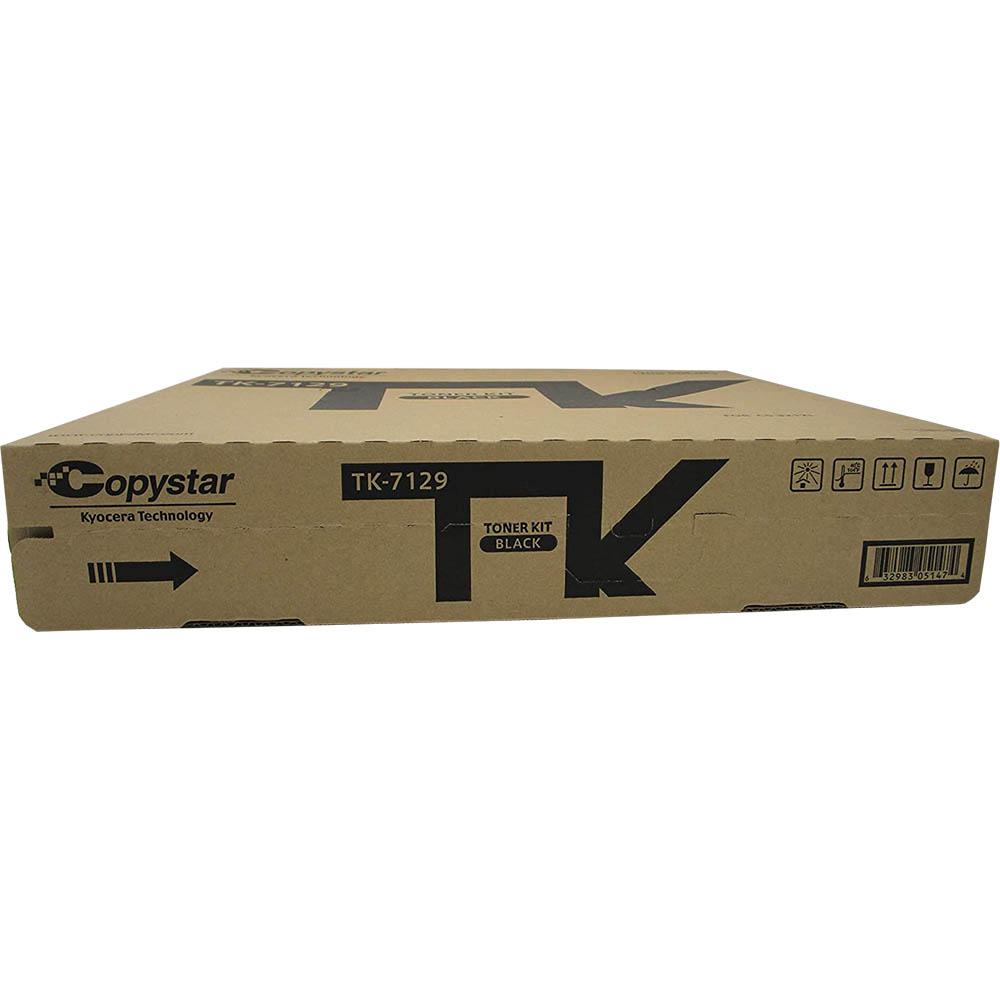 Image for KYOCERA TK7129 TONER CARTRIDGE BLACK from City Stationery Office National