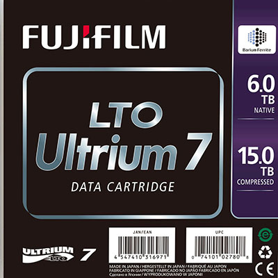 Image for FUJI LTO ULTRIUM 7 DATA CARTRIDGE 6TB - 15TB from Office National Capalaba
