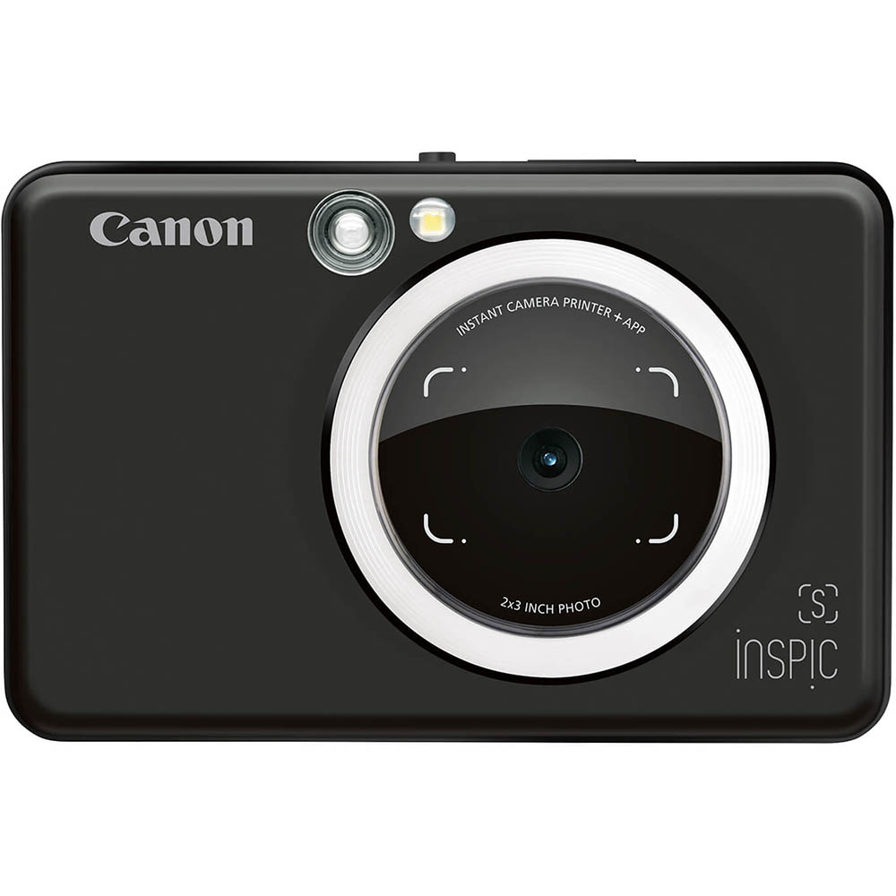 Image for CANON INSPIC S DIGITAL CAMERA AND PHOTO PRINTER MATTE BLACK from Darwin Business Machines Office National