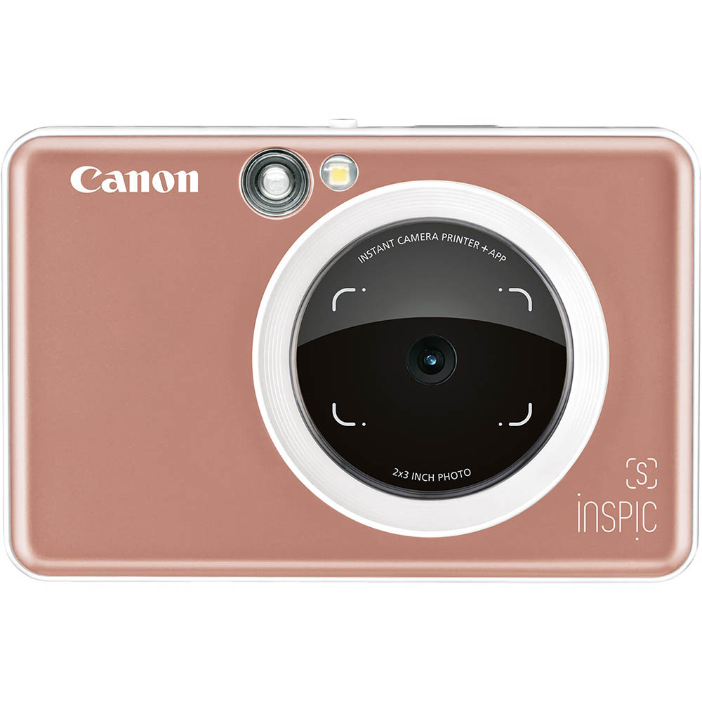 Image for CANON INSPIC S DIGITAL CAMERA AND PHOTO PRINTER ROSE GOLD from Office National Kalgoorlie