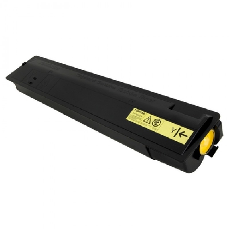 Image for TOSHIBA TFC505 TONER CARTRIDGE YELLOW from City Stationery Office National