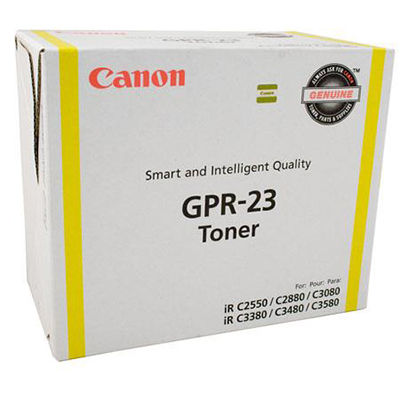 Image for CANON GPR23 TG35 TONER CARTRIDGE YELLOW from City Stationery Office National
