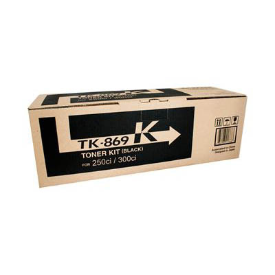 Image for KYOCERA TK869B TONER CARTRIDGE BLACK from OFFICE NATIONAL CANNING VALE, JOONDALUP & OFFICE TOOLS OPD