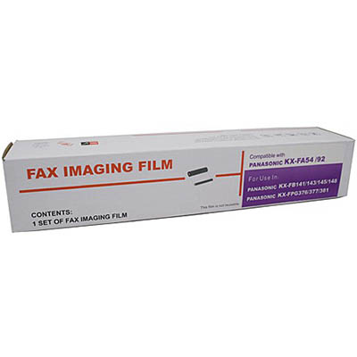 Image for WHITEBOX COMPATIBLE PANASONIC KXFA54E FAX FILM from Wetherill Park / Smithfield Office National