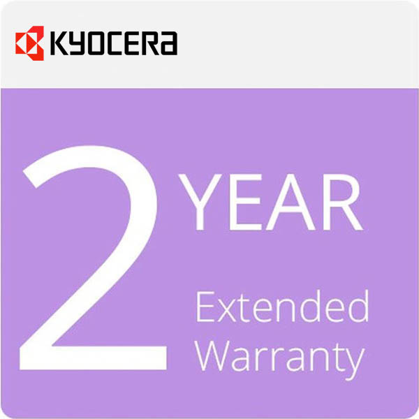 Image for KYOCERA ECO-065 2 YEAR EXTENDED WARRANTY from Office National Hobart