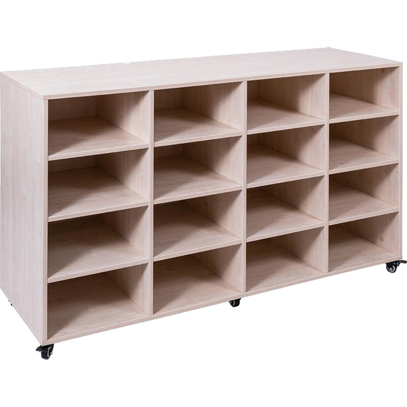 Image for ELIZABETH RICHARDS MOBILE STORAGE UNIT 16 BAY 1440 X 450 X 860MM from Page 5 Office National