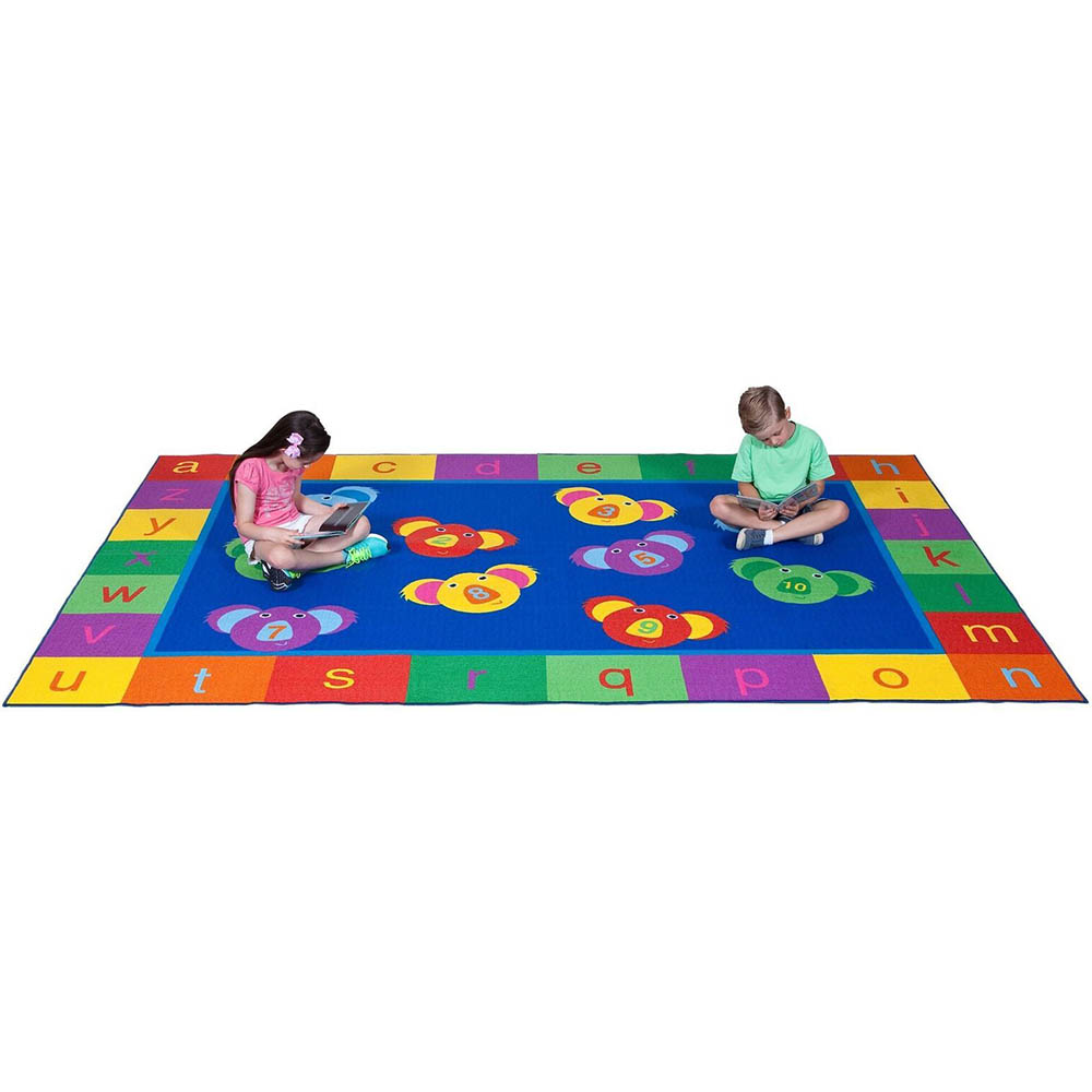 Image for ELIZABETH RICHARDS 123 ABC KOALA FUN RUG 3300 X 2000MM from Office National Limestone Coast