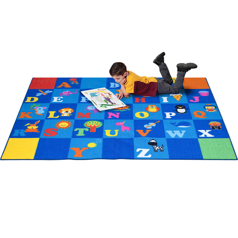 Image for ELIZABETH RICHARDS I LOVE MY ABCS RUGS 4 X 3.3M from Emerald Office Supplies