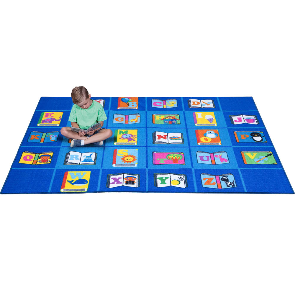Image for ELIZABETH RICHARDS MY FAVOURITE BOOK RUG 4 X 3M BLUE from Office National Limestone Coast