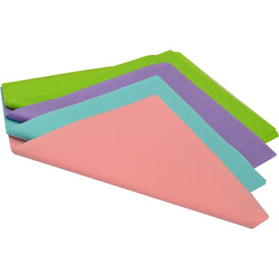 Image for ELK TISSUE PAPER ACID FREE 17GSM 500 X 750MM PASTEL ASSORTED PACK 480 from Wetherill Park / Smithfield Office National