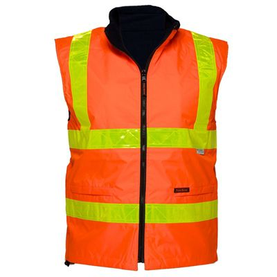 Image for PRIME MOVER MY214 WATERPROOF POLAR FLEECE LINED VEST REVERSIBLE WITH MICRO PRISM TAPE from OFFICE NATIONAL CANNING VALE, JOONDALUP & OFFICE TOOLS OPD