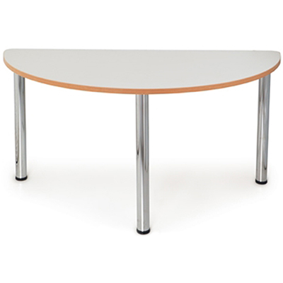Image for QUORUM GEOMETRY MEETING TABLE HALF ROUND 1500MM from City Stationery Office National